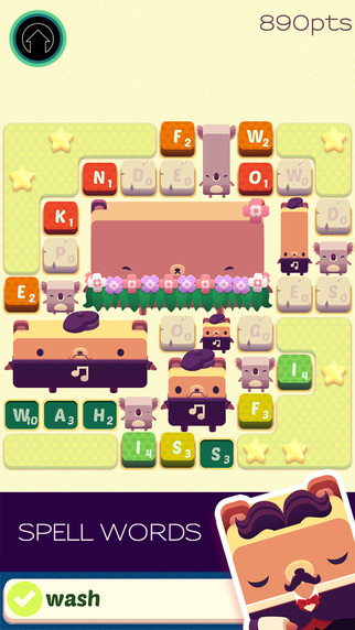 Alphabear Word Puzzle Game_SS1