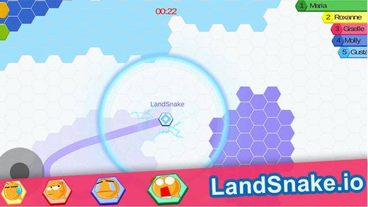 Land Snake.io