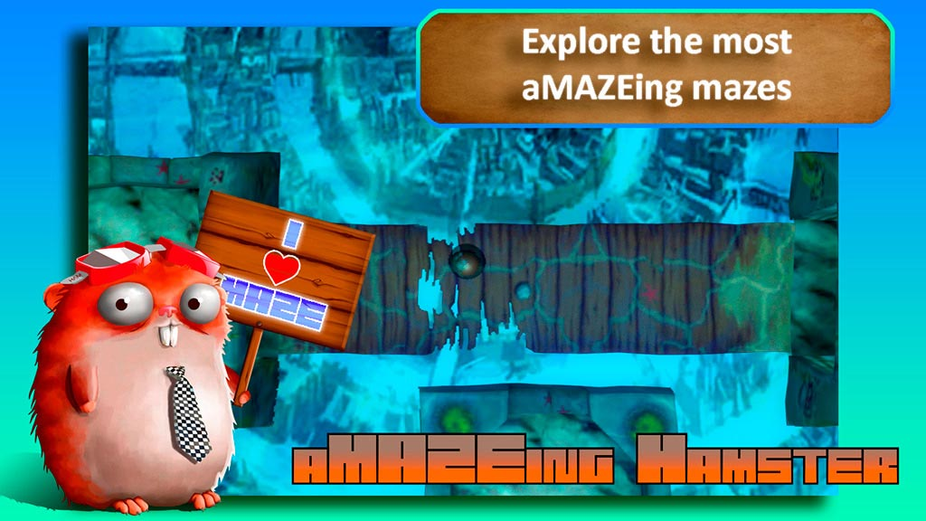 aMAZEing Hamster