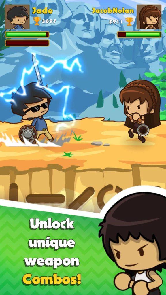 Swipe Fighter Heroes