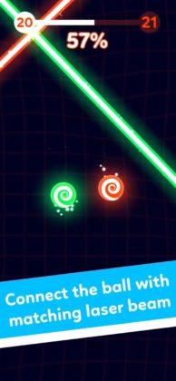 Balls VS Lasers