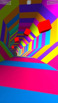 Tunnel Madness 3D