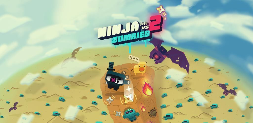 Ninja Dude vs Zombies 2