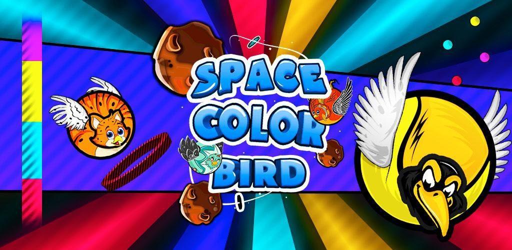 Space Color Bird
