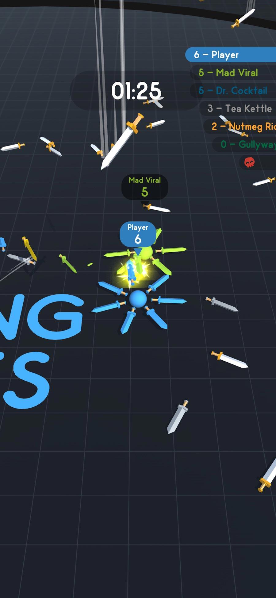 Spinning Blades